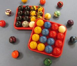 custom billiard pool ball set for eight 8 ball and cut-throat elimination or create your own game