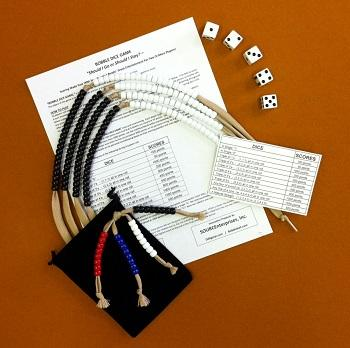 Bobble Dice Game - With Easy Score Keeping Beads
